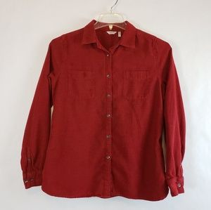 Woolrich | Red Chevron Long Sleeve Button Down